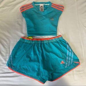 Adidas Tee Shirt & Shorts